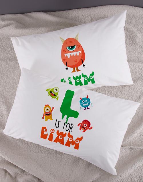 kids: Personalised Bright Star Emoji Pillow Case Set!