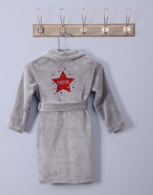 kids: Personalised Twinkles Fleece Gown!