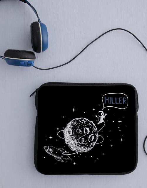 gadgets: Personalised Neoprene Space Tablet Cover!