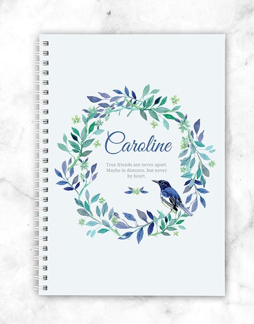 friendship: Personalised Friendship Notebook!