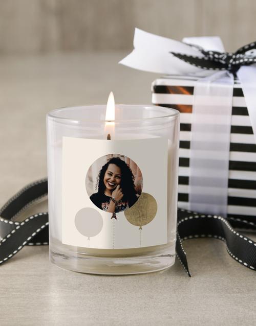 personalised: Personalised Photo Birthday Candle!