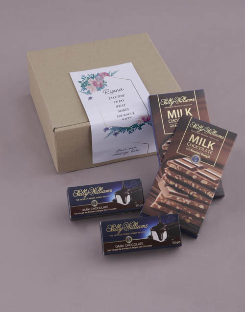 personalised: Personalised Happy Soul Sally Williams Nougat Box!