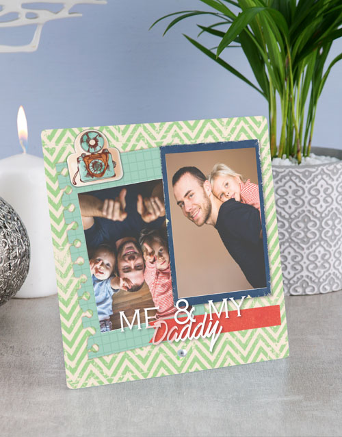 fathers-day: Personalised Daddy Glass Tile !