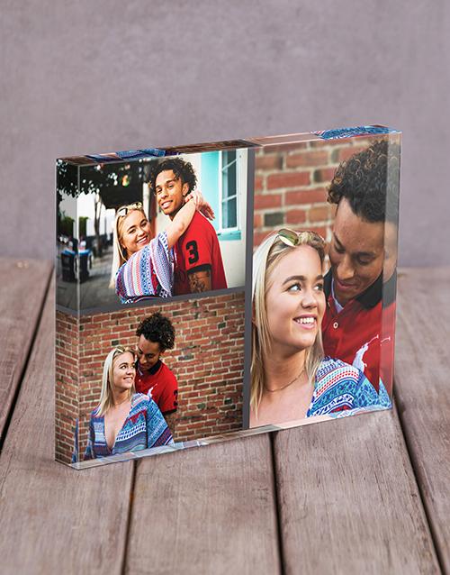 valentines-day: Personalised Blank Multi Acrylic Block!
