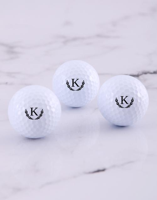 grandparents-day: Personalised Wreath Golf Balls!