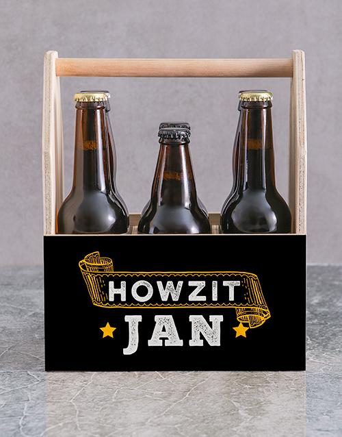 gourmet: Personalised Howzit Man Crate!