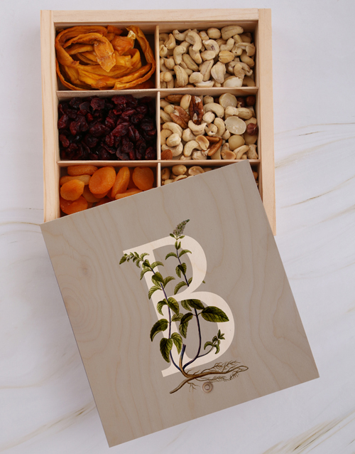 gourmet: Personalised Initial Snack Crate!