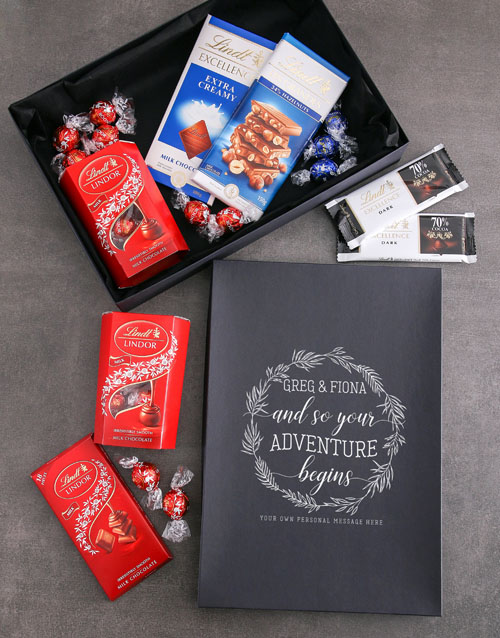 friendship: Personalised Adventure Begins Lindt Box!