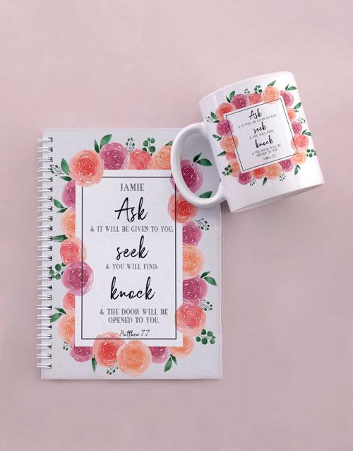 personalised: Personalised Seek and Find Mug And Notebook!
