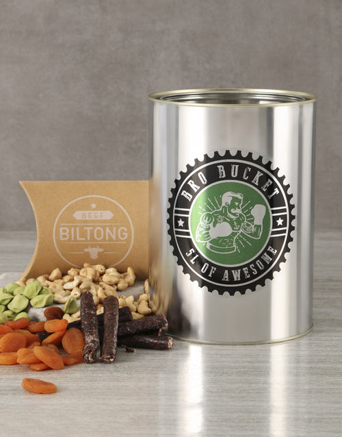 fathers-day: Biltong and Nuts Bro Bucket!