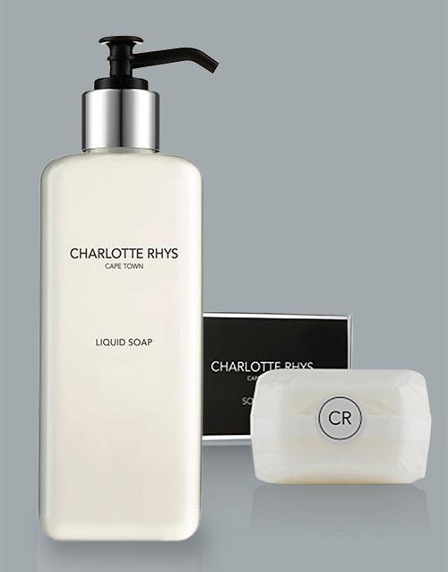 bath-and-body: UTL Charlotte Rhys Soap Combo!