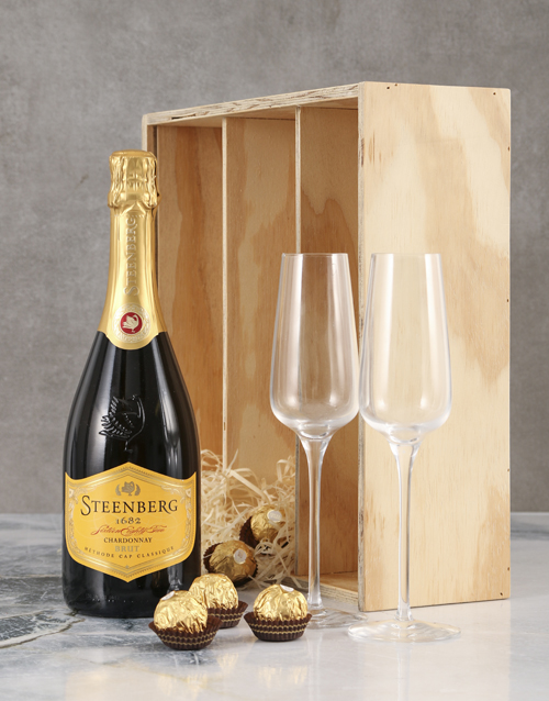 mothers-day: Steenberg Chardonnay MCC Crate!