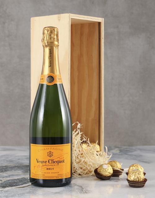 love-and-romance: Vivacious Veuve Crate!