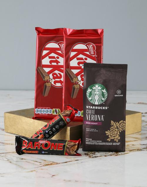 black-friday: Starbucks and Nestle Hamper!