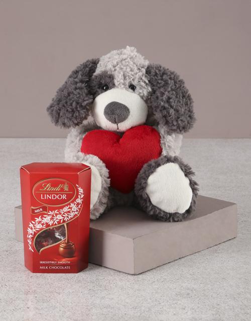 teddy-bears: Puppy in Love!