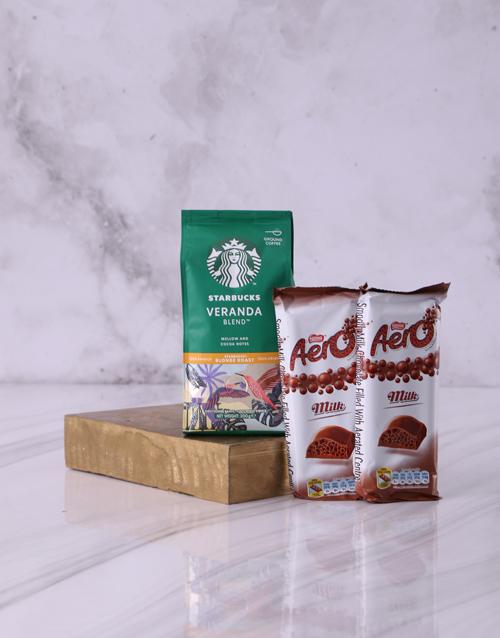 black-friday: Starbucks and Aero Hamper!