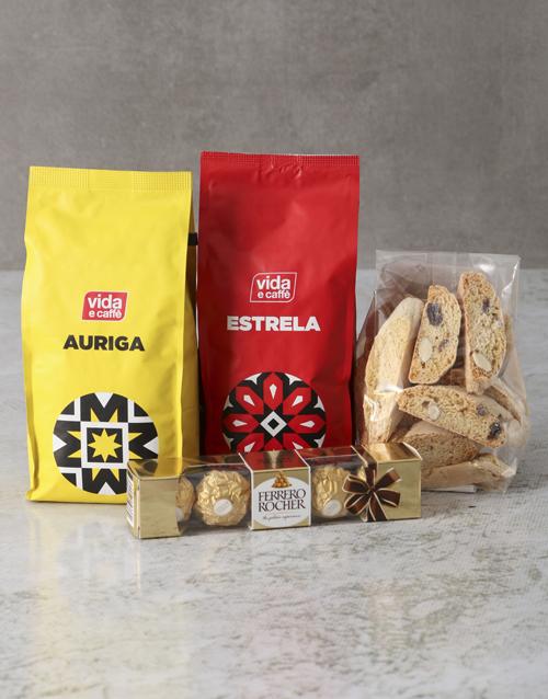 black-friday: Cookies And Chocolate Vida Coffee Hamper!