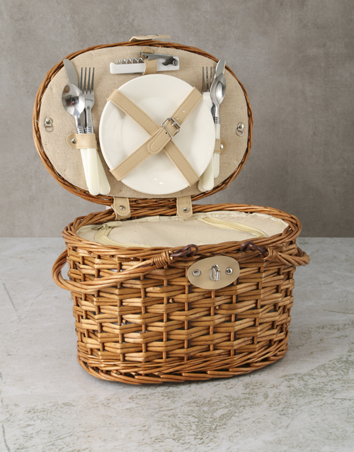 fathers-day: Refined Picnic Basket!