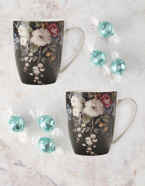 homeware: Maxwell And Williams Midnight Blossom Mug Set!