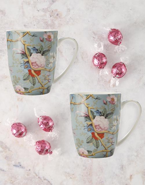 homeware: Maxwell And Williams Summer Blossom Mug Set!
