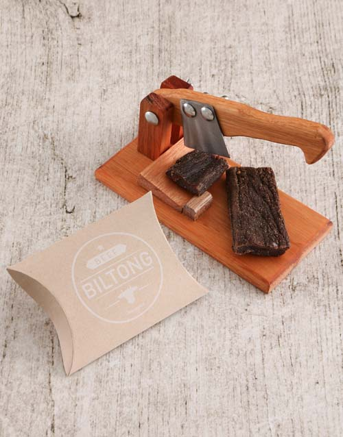 grandparents-day: Small Biltong Cutter with Biltong Gift!