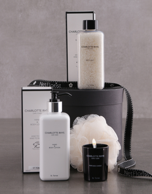 year-end: Charlotte Rhys St Thomas Pamper Pack!