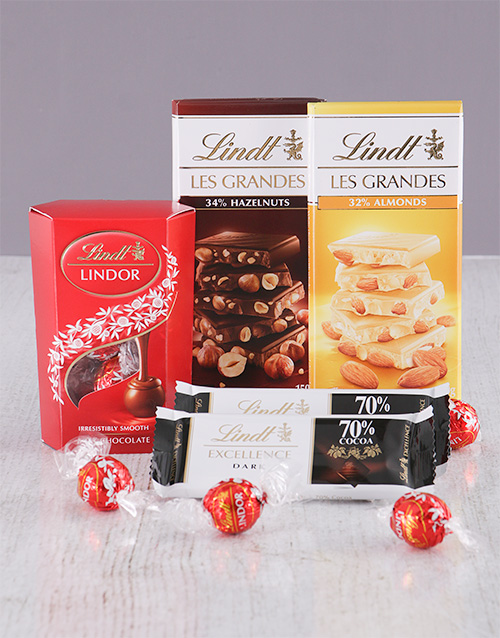 year-end: Lindt Chocolate Delight!