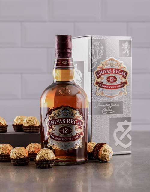 anniversary: 12 Year Chivas Regal and Ferrero Rocher Hamper!