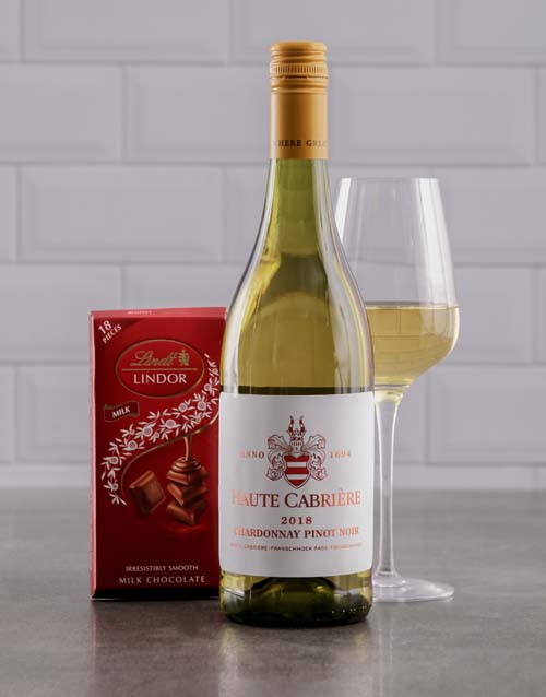 anniversary: Duo of Haute Cabriere and Lindt Chocolate!