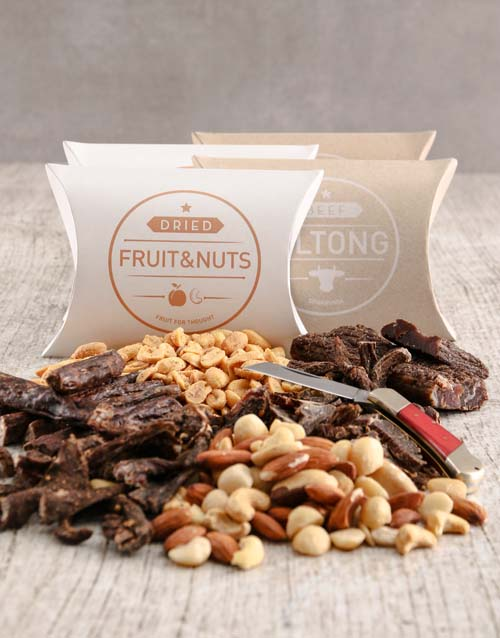 fathers-day: Snack Box of Biltong and Nuts!