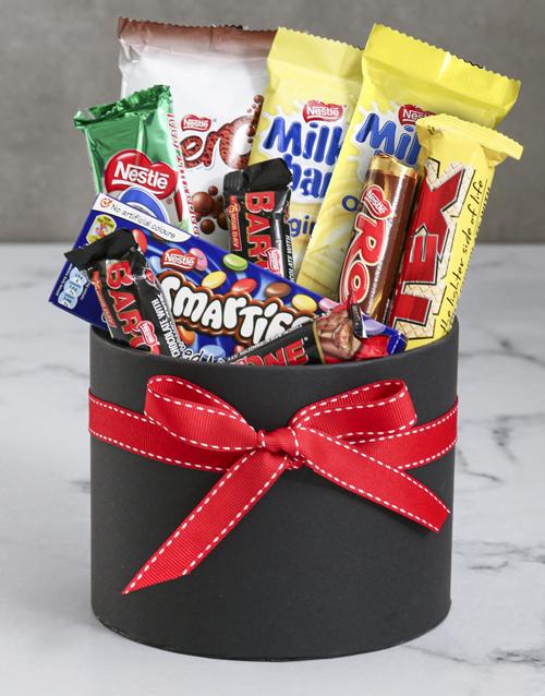 christmas: Hat Box Treat Gift!