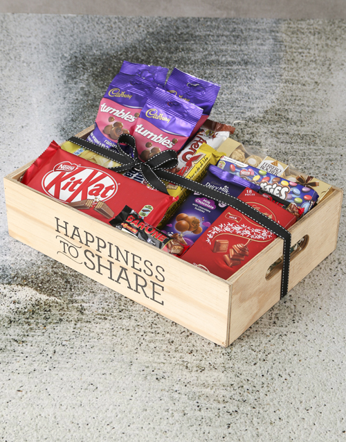 christmas: Chocolate Crate of Happiness!