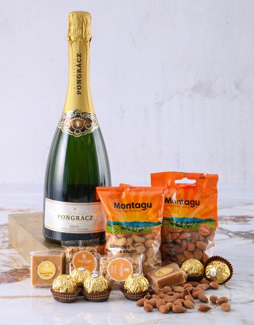 new-years: Pongracz Gold Snack Pairing!