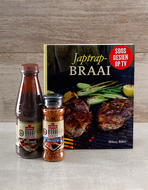 gifts: Japtrap Braai Cookbook Hamper!