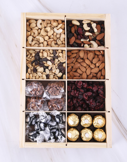 gifts: Sweet and Savoury Snack Tray!
