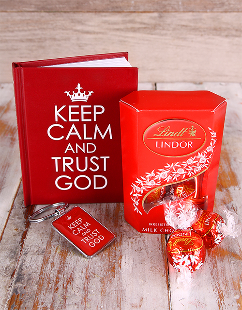 fathers-day: Keep Calm & Trust God Hamper !