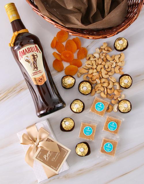 bosses-day: Amarula Gourmet Snack Basket!