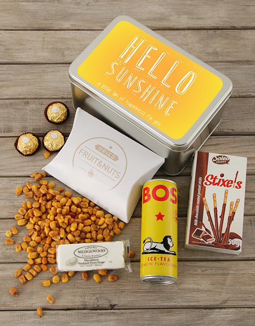 gourmet: Hello Sunshine Snack Tin!