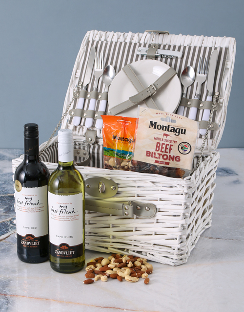 fathers-day: Best Friend Picnic Basket!