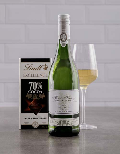 mothers-day: Sauvignon Blanc And Lindt Duo!