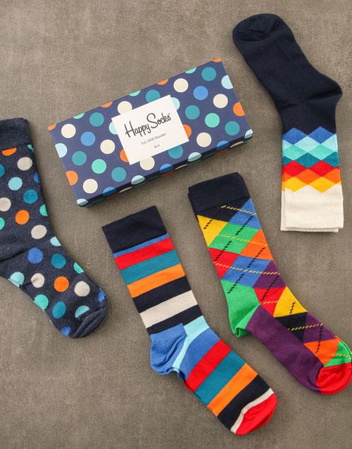christmas: Happy Socks Polka Dots Gift Set!