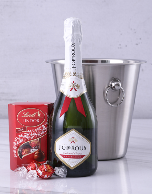 christmas: JC Le Roux Lindt and Ice Bucket Surprise!