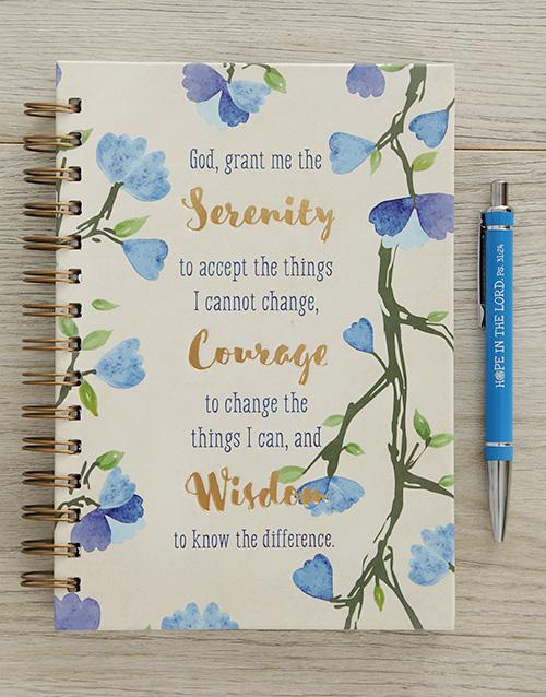 faith: Serenity Journal Hamper!
