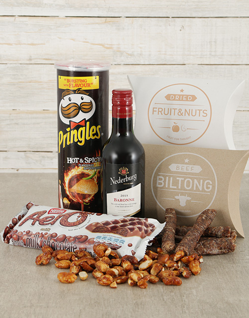 fathers-day: Nederburg and Nibbles Hamper!