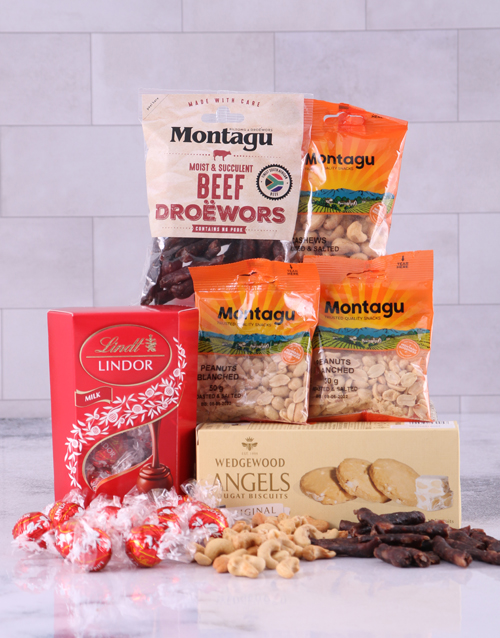 new-years: Red Snack Hamper!