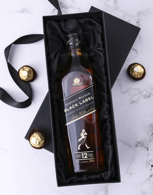anniversary: Black Box of Johnnie Walker Black!