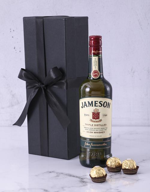 anniversary: Red Box of Jameson!