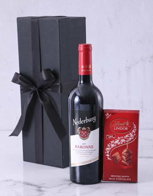 sameday: Red Box of Nederburg!