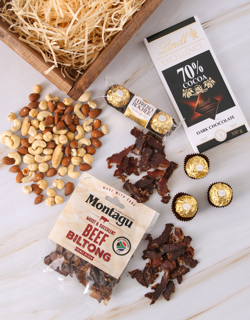 valentines-day: Nutty Biltong Luxury Crate!