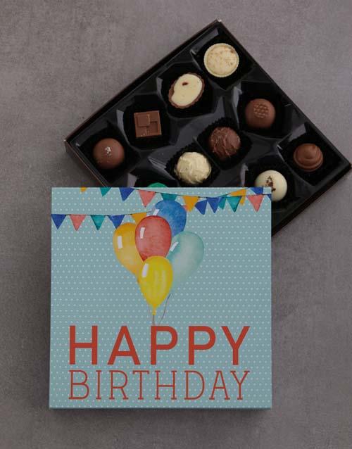 prices: Unisex Birthday Choc Tray!